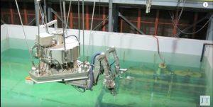 ربات پاکسازی کننده نیروگاه اتمی فوکوشیما